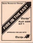 Board Game Accessory: Fire In The East, Europa Play Aids Kit 1
