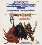RPG Item: MC04: Monstrous Compendium Dragonlance Appendix
