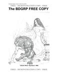 RPG Item: The BDGRP FREE COPY