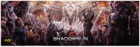 RPG Item: Shadowrun Gamemaster Screen (5th Edition)