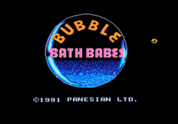 Video Game: Bubble Bath Babes