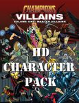 RPG Item: Champions Master Villains Character Pack (HD Character Pack)
