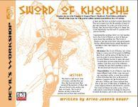 RPG Item: Sword of Khonshu