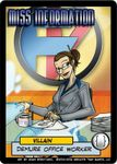Board Game: Sentinels of the Multiverse: Miss Information Villain Character