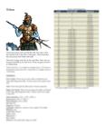RPG Item: Classes of Fantasy: Triton