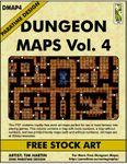 RPG Item: DMAP4: Dungeon Maps Vol. 4