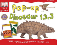 Board Game: Pop-Up Dinosaur 1,2,3