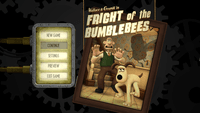 Video Game: Wallace & Gromit's Grand Adventures - Episode 1: Fright of the Bumblebees
