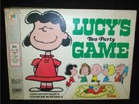 Board Game: Lucy's Tea Party Game