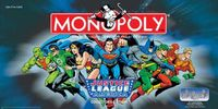 Board Game: Monopoly: Justice League of America