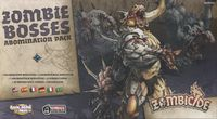 Board Game: Zombicide: Black Plague Zombie Bosses Abomination Pack