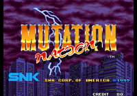 Video Game: Mutation Nation