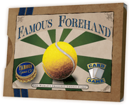 Board Game: Famous Forehand: The World's Smallest Tennis Game