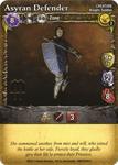 Board Game: Mage Wars: Asyran Defender Promo Card
