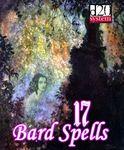RPG Item: 17 Bard Spells