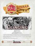RPG Item: Sidebar #35: Clinging
