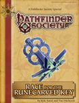 RPG Item: Pathfinder Society Special: Race for the Runecarved Key