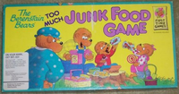 Board Game: The Berenstain Bears Too Much Junk Food Game
