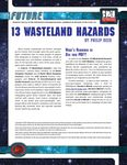 RPG Item: 13 Wasteland Hazards