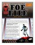 RPG Item: Foe File #04: Zed