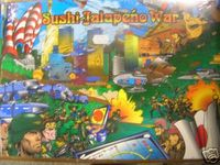 Board Game: Sushi-Jalapeńo War