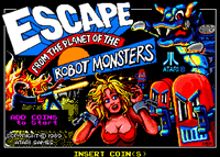 Video Game: Escape from the Planet of the Robot Monsters