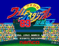 Video Game: World Stadium '89
