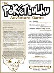 RPG Item: The Pokéthulhu Adventure Game (3rd Edition)