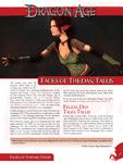 RPG Item: Faces of Thedas: Tallis