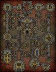 RPG Item: VTT Map Set 191: Ancient Elven Tomb