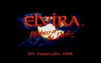 Video Game: Elvira: Mistress of the Dark