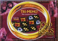 Board Game: Tri-Memo: The Lord of the Rings – The Two Towers