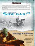 RPG Item: Sidebar #07: Hirelings & Followers