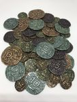 Board Game Accessory: Agra: Metal Coins
