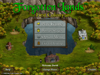 Video Game: Forgotten Lands - First Colony