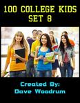 RPG Item: 100 College Kids Set 8