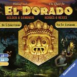 Board Game: The Quest for El Dorado: Heroes & Hexes