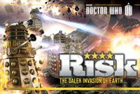 Board Game: Risk: The Dalek Invasion of Earth