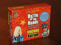 Board Game: Battle of the Bands: Encore Edition