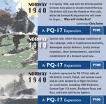 Board Game: Norway, 1940: A PQ-17 Expansion