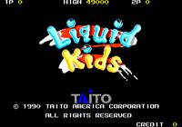 Video Game: Liquid Kids
