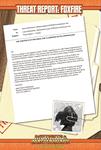 RPG Item: Threat Report #33: Foxfire