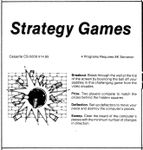 Video Game Compilation: Strategy Games, CS-5009