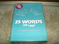 Board Game: 25 Words or Less