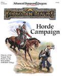 RPG Item: FR12: Horde Campaign
