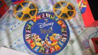 Board Game: The Wonderful World of Disney Trivia Game