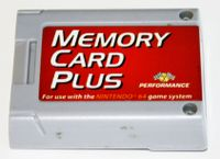 Video Game Hardware: Performance Memory Card