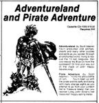 Video Game Compilation: Adventureland and Pirate Adventure, CS-1009