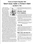 RPG Item: Focus on Freeport #03: Reikert Lloyd, Captain of Verlaine's Guard