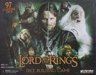 Board Game: The Lord of the Rings Dice Building Game